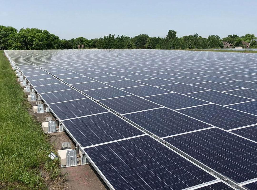 Solar Panel Flat