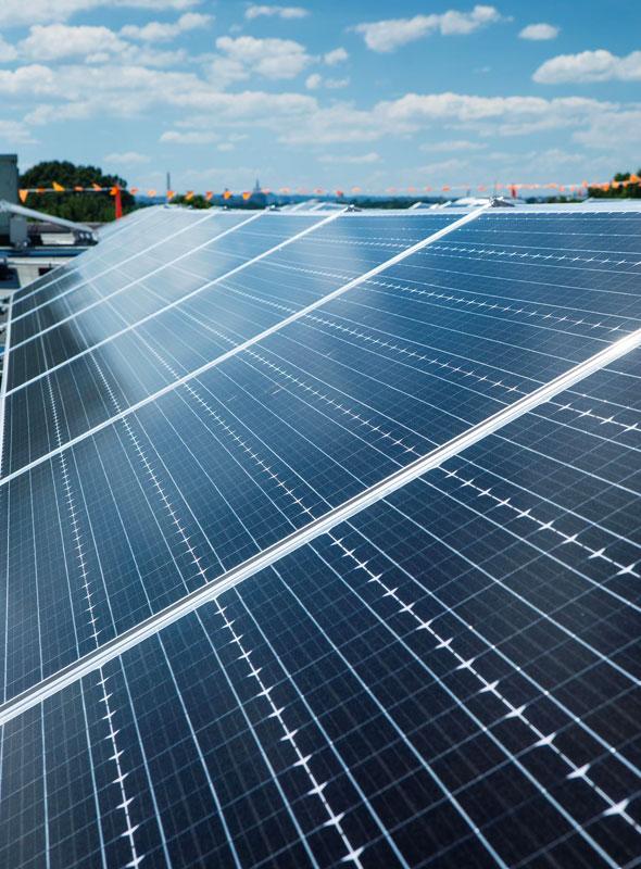 DCDGS Solar Panel Closeup