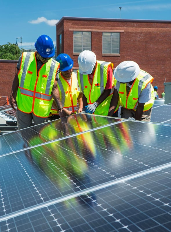 DCDGS Solar Construction