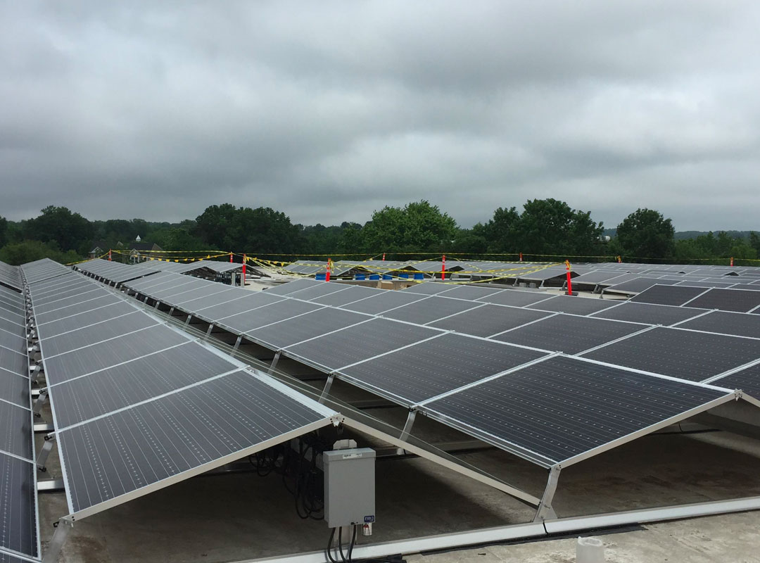 DCDGS Solar Roof Closeup