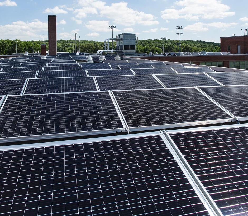 DCDGS Roof Solar Array