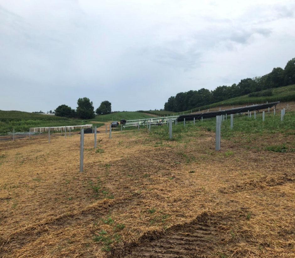 Flintstone Community Solar field