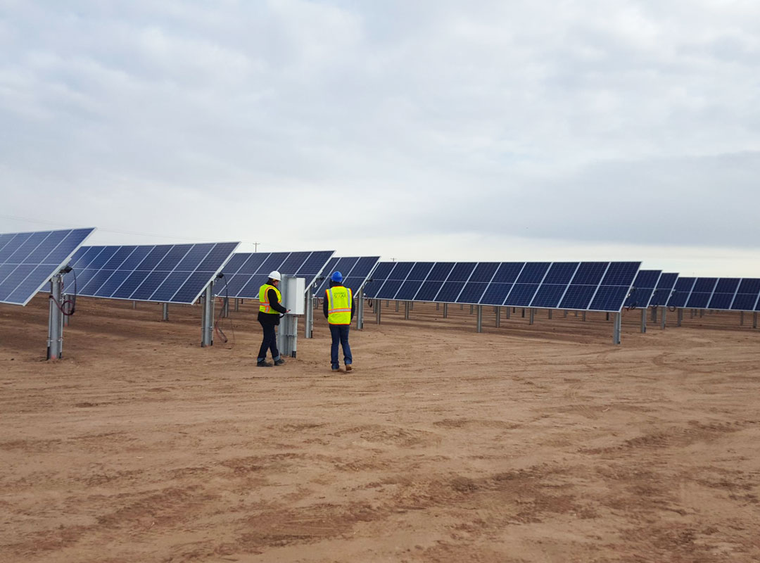 Gallup, NM Solar Construction