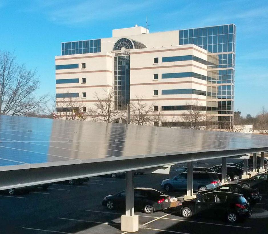 Konterra Solar Array Parking