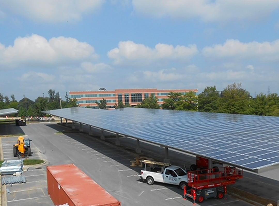 Konterra Parking Lot Solar Array