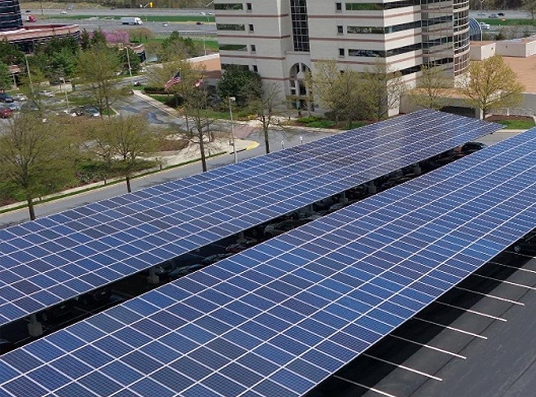Konterra Solar Array Top