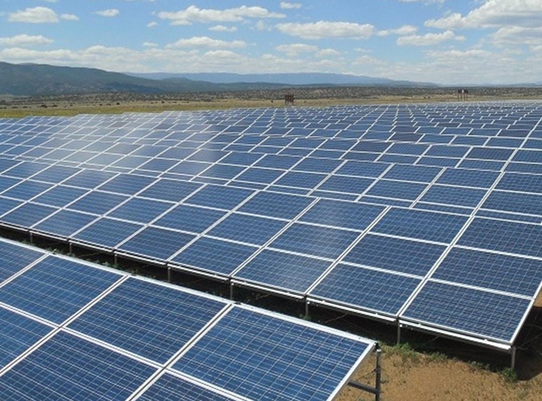 MORA Solar Site Afternoon