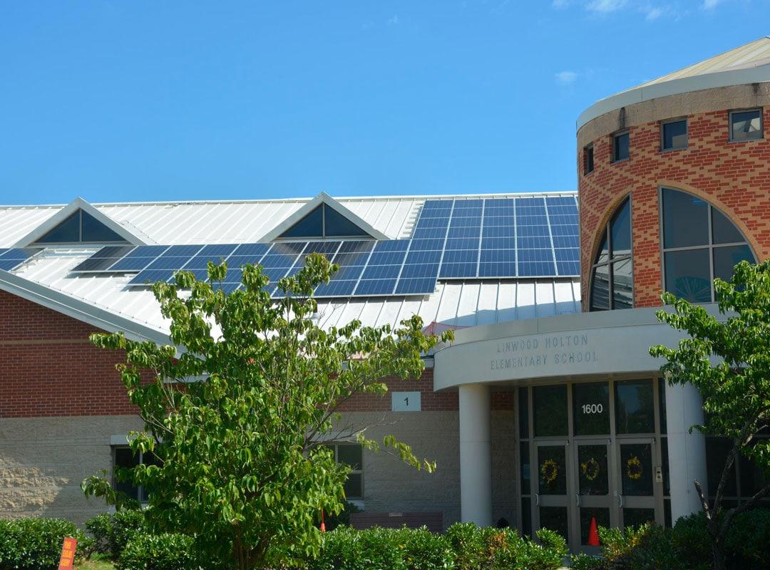 Richmond Public School Solar Panels