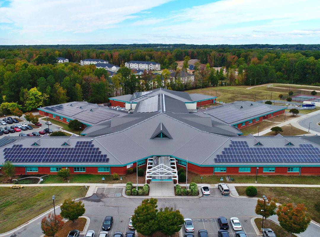 Richmond Public School Solar Array