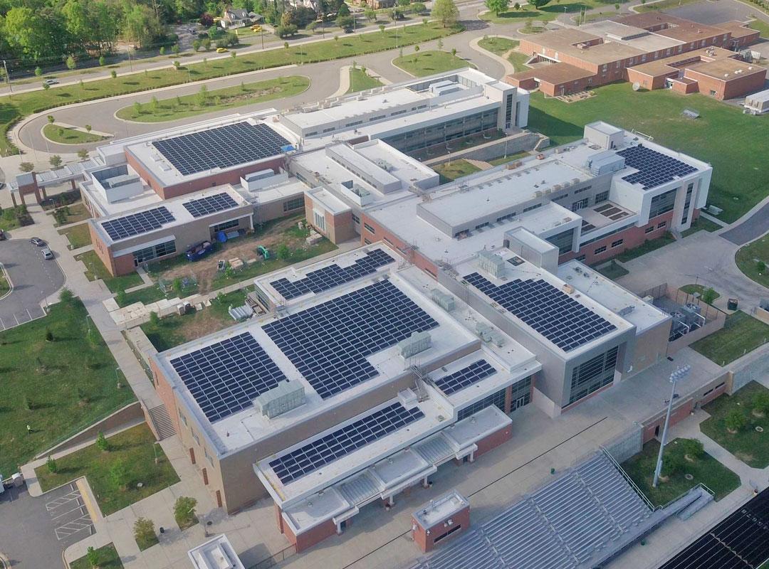 Richmond Public Schools Solar Array