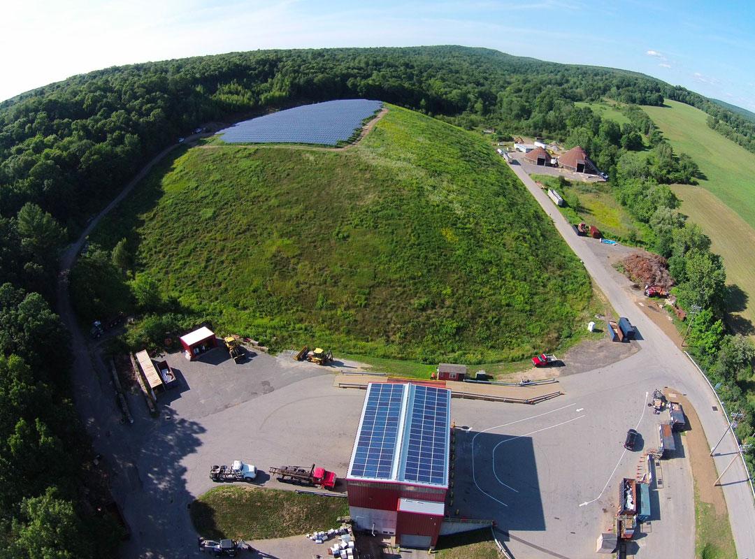 Stafford Solar Field Fisheye