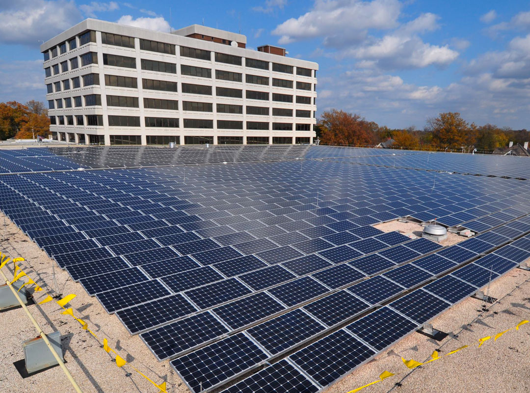 Terry Sanford Solar Array Over