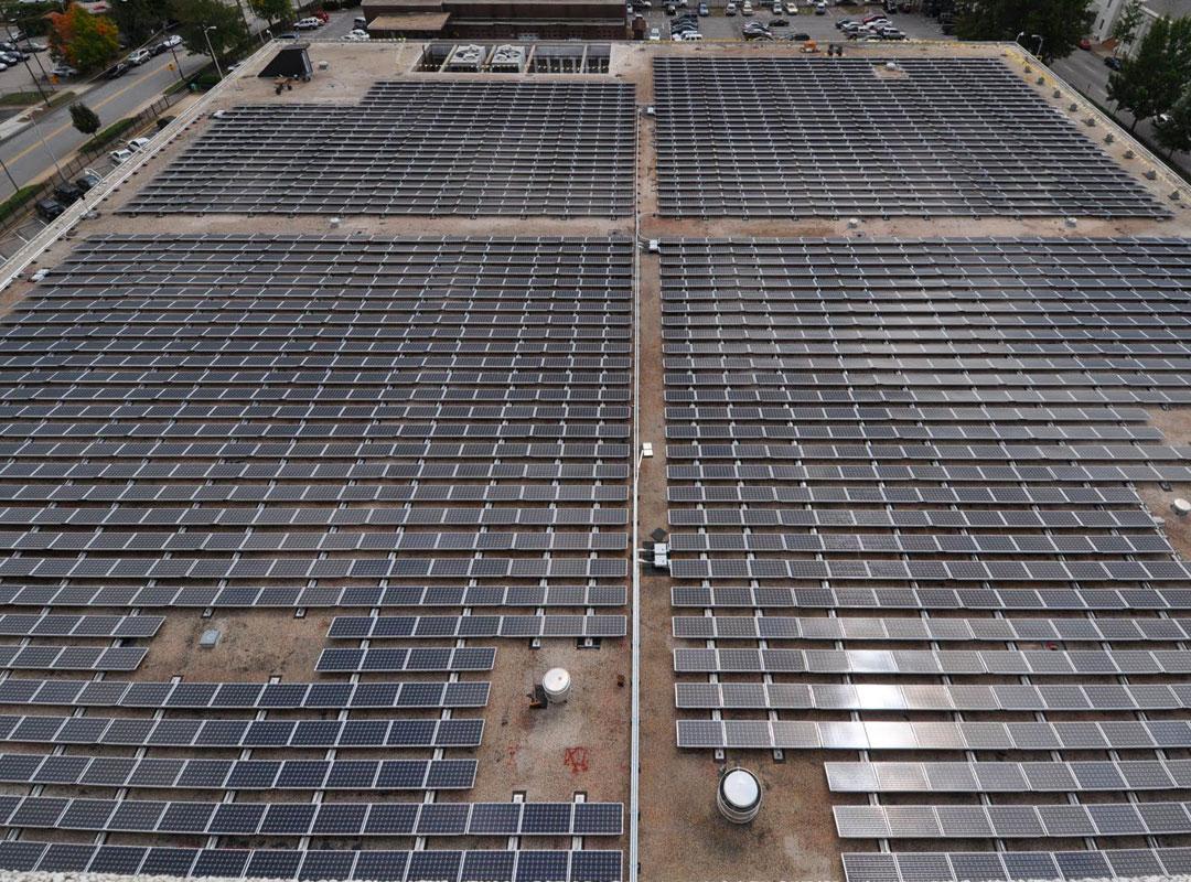 Terry Sanford Solar Roof