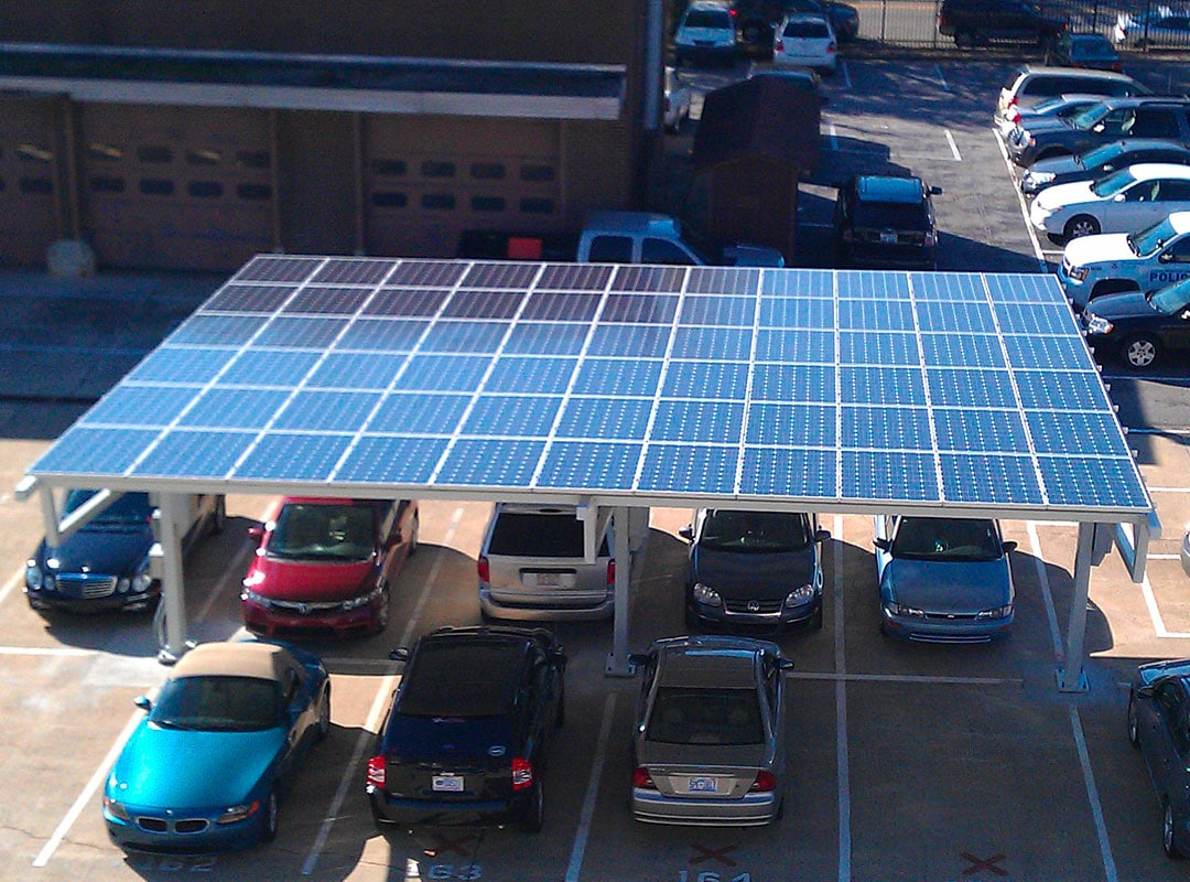 Terry Sanford Parking Lot