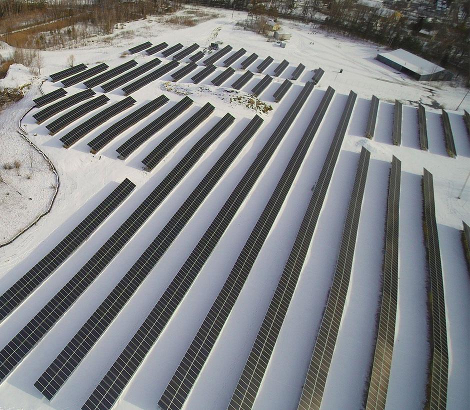 Wallingford Solar Panel Array
