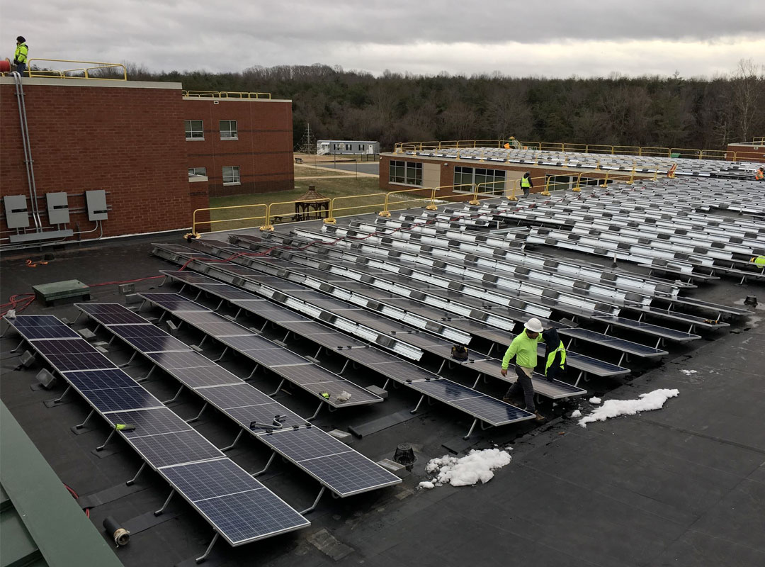Augusta County Roof Construction