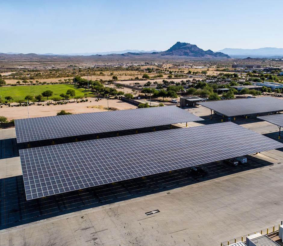 Valley Metro Solar Array