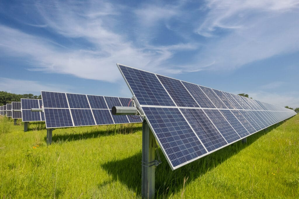 solar arrays community solar